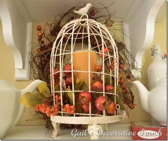 Gail's Decorative Touch: Fall Cloches