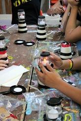 Like A Lighthouse Girls Camp Craft - My Insanity