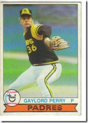Gaylord Perry 79 Topps