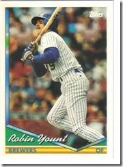 Robin Yount Topps 94