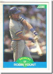 Robin Yount 89 Score