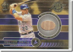 Hector Ortiz Bat Card