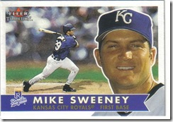 Mike Sweeney Fleer Tradition