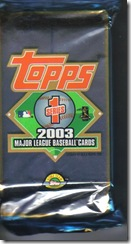 2003 Topps Series 1