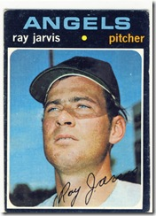 Topps 71 Ray Jarvis