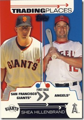 2007 Topps Updates Trading Places