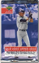 Upper Deck First Pitch Pack