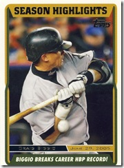 Topps 2006 Updates & Highlights Craig Biggio