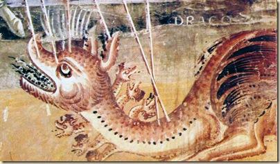 XII Sec Dettaglio Dragone di Pietro al monte