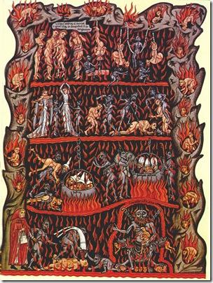 XII Sec Hortus_Deliciarum_-_Hell