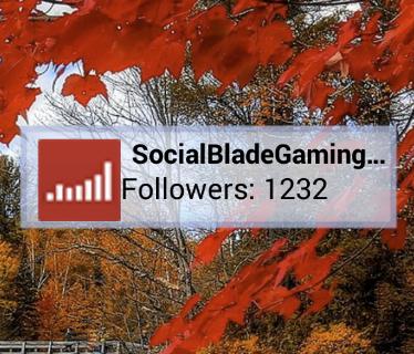 Twitch Follower Stat Widget