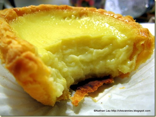 Egg Tart from Golden Gate Bakery, San Francisco