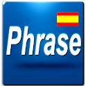 Phrase: Learn Spanish logo