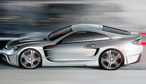 The supercar on the basis of Mercedes-Benz SL