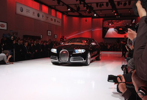 Bugatti has presented the fastest and luxury sedan in the World