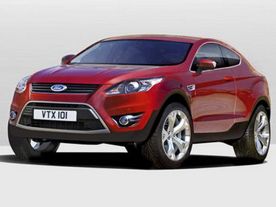 Ford represents coupe Kuga