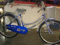 1 City Bike EVERBEST 24 Inci
