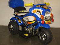 2 Motor Mainan Aki JUNIOR HL218 POLICE