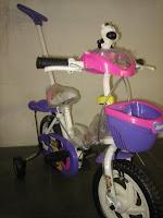 2 Sepeda Anak JEMBOLY Tongkat-Musik 12 Inci