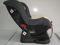 3 Baby Car Seat PLIKO PK702B with Extra Seat Pads