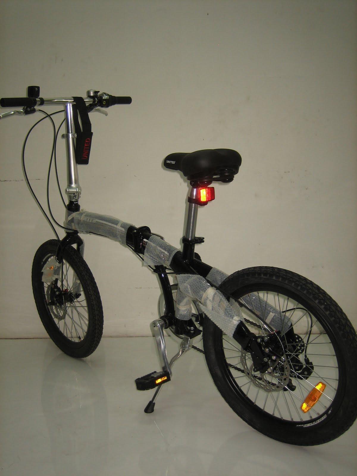 tokosarana™ Mahasarana Sukses™ Sepeda Lipat United DOT