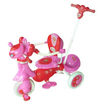 Sepeda Roda Tiga WIMCYCLE Strawberry Shortcake