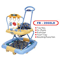 Baby Walker FAMILY FB2068LD AYUNAN - MAINAN GT - TONGKAT