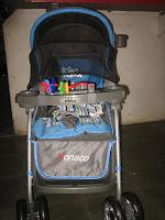 Kereta Bayi Pliko PK288 Monaco Hadap Depan Belakang