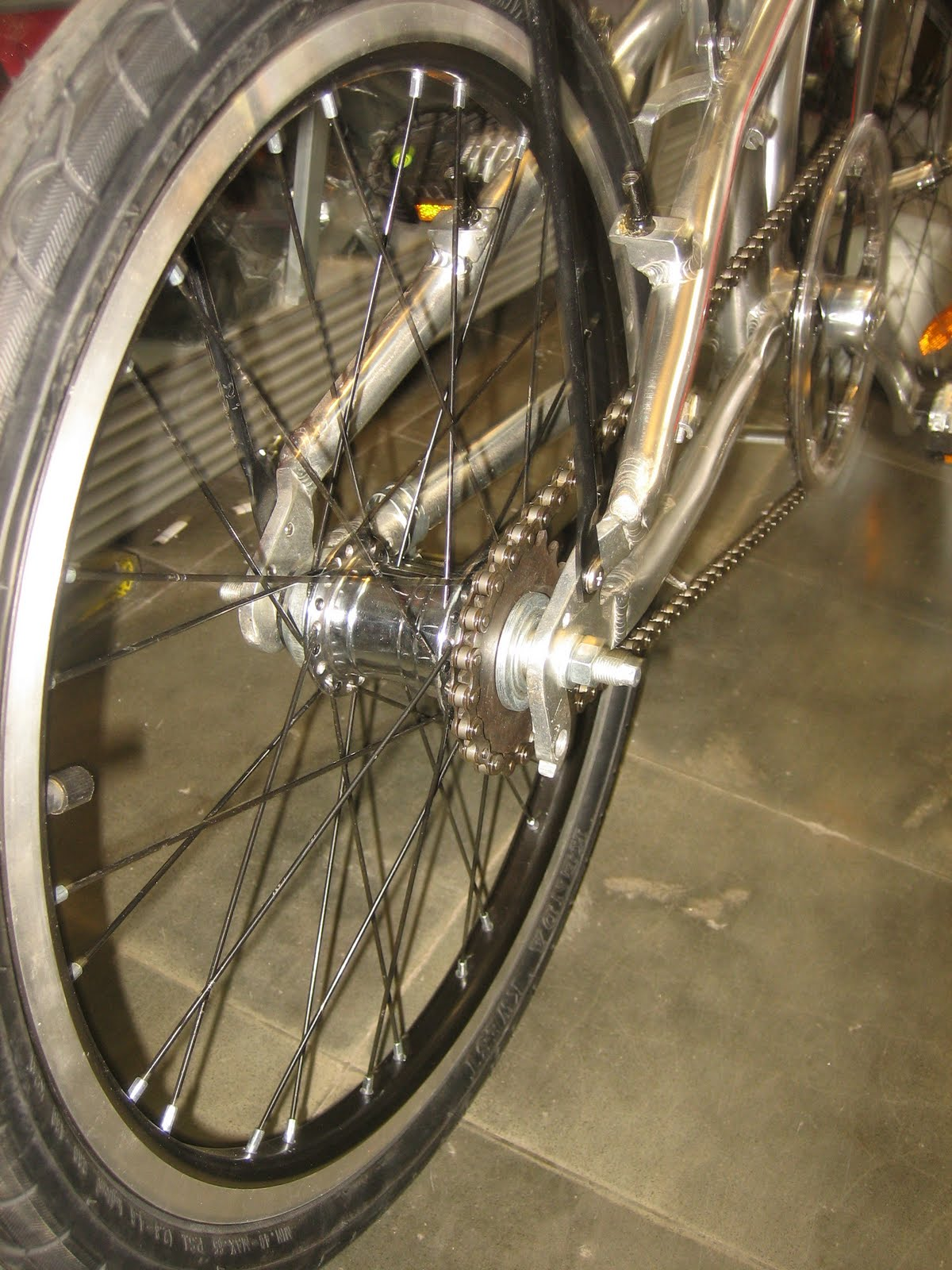 Modifikasi Sepeda Lipat Element Residence P