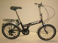 1 Sepeda Lipat GENIO 20-6S SPRINT 20 inci