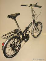4 Sepeda Lipat GENIO 20-6S SPRINT 20 inci