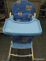 Baby High Chair BABYDOES CH978 - 3 in 1 High Chair