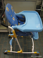 Baby High Chair BABYDOES CH978 - 3 in 1 High Chair 2