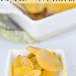 Easy Beef & Potato Casserole.