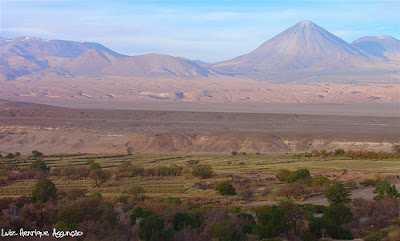 View from San Pedro de Atacama