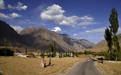 Chitral Extreme North Pakistan this is the home of the snow leopard in Pakistan