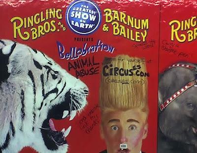 circus tiger poster