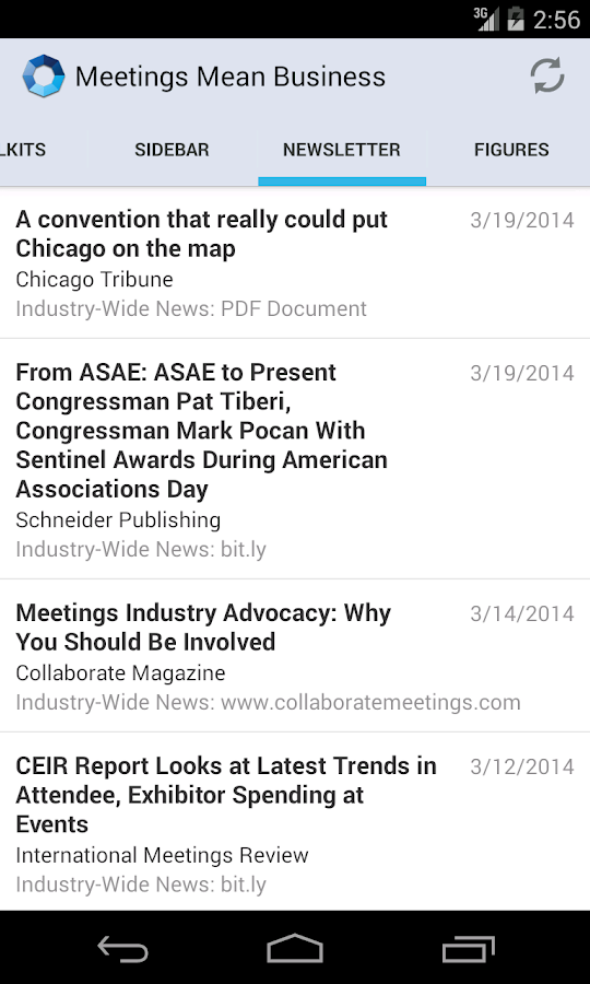 Meetings Mean Business - screenshot