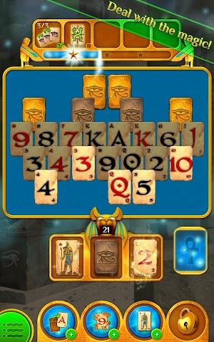 Screenshot 1 Pyramid Solitaire Saga