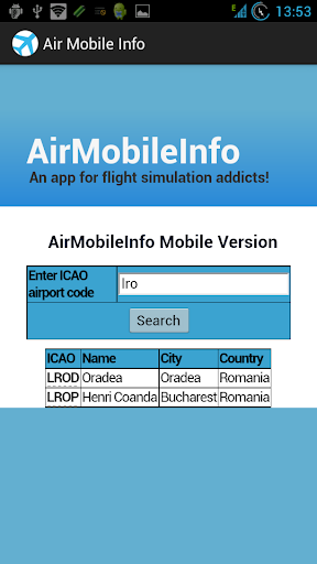 AirMobileInfo