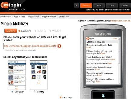 mipin-make it mobile-mobile view-vmancer