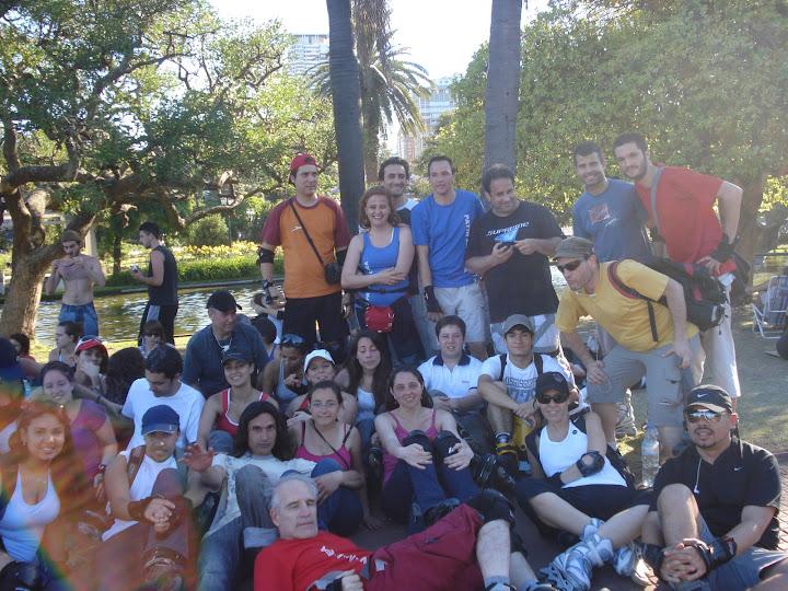 En esta foto aparacen la mayoria de los que pasaron durante este año por El Rinconcito...