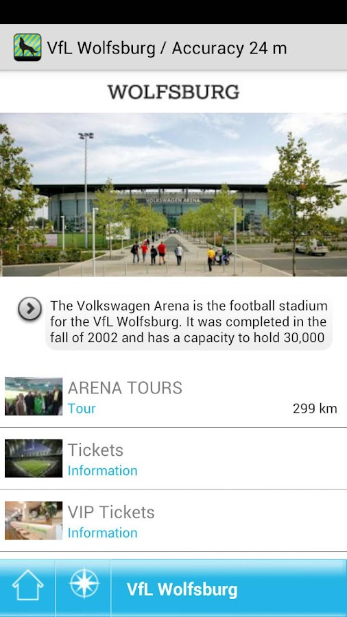 Wolfsburg Guide - screenshot