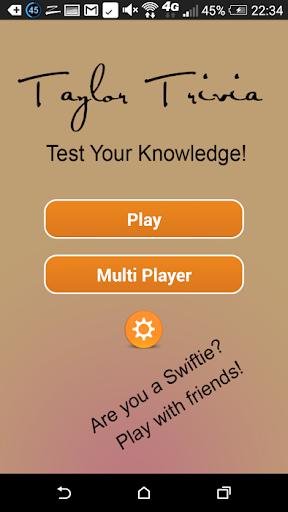 Taylor Swift Knowledge Test