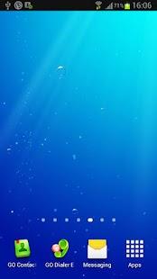 Under water live wallpaper screenshot