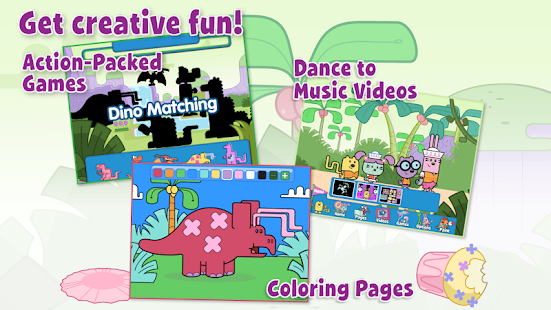 Wubbzy's Dinosaur Adventure- screenshot thumbnail