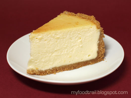 Is Cheese Cake Supposed To Be Baked