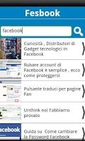 Screenshot of Fesbook Blog