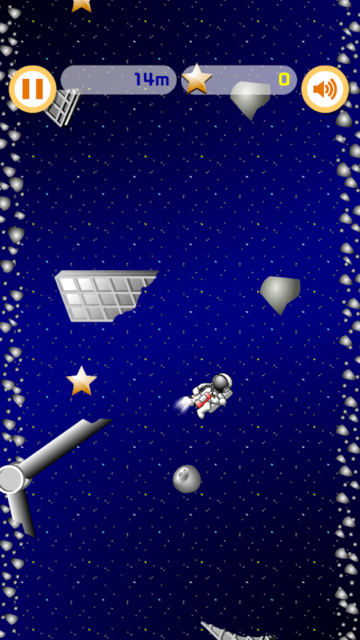 Xtinguisher in Space- screenshot