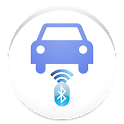 Blue Car Tethering on Demand icon